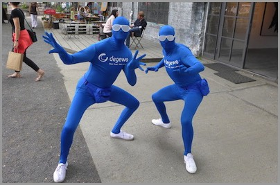 Performance in Morphsuits